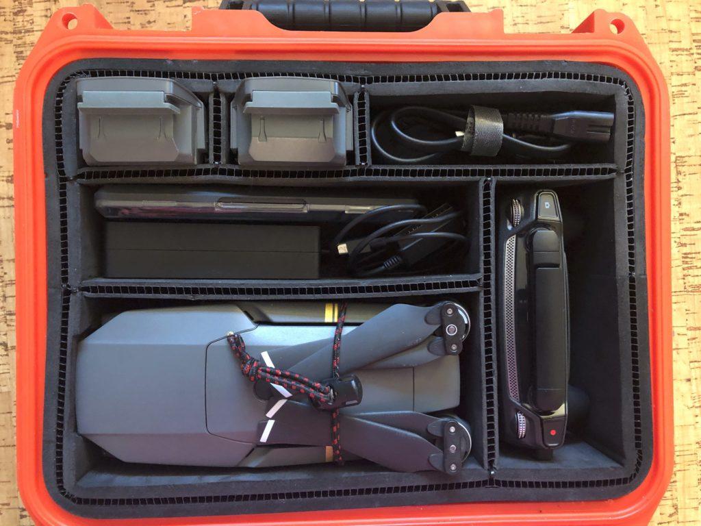 DIY trekpak divider for my DJI Mavic drone